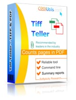Count pages in PDF and TIFF files