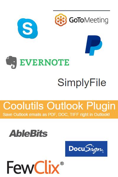 outlook plugins