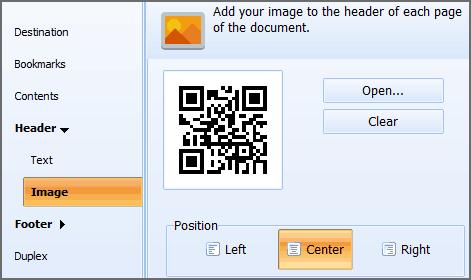 html tp pdf watermark