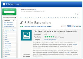 file type info