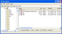 Click to view PDF Splitter Downloader 1.6 screenshot