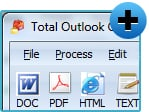 Total Outlook Converter Pro X Preview