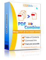 Combine any amount of PDFs into one with table of contents.