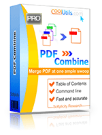 Combine DOC, TXT, JPEG, TIFF, emails into one PDF on a server or add merge pdf option to your app. PDF Combine Pro X is powerful enough to combine PDFs by folders, by command name part or