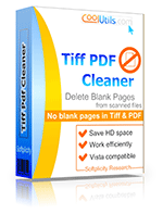 Delete Blank Pages From TIFF And PDF Fast