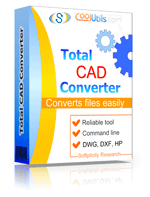 Convert CAD to PDF, DWG, TIFF Smart