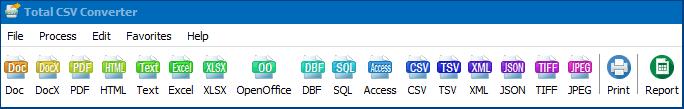 convert csv files