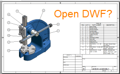 open dwf files