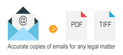 email to pdf legal