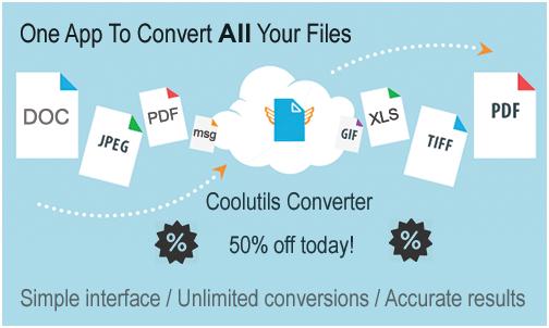 coolutils converter promo
