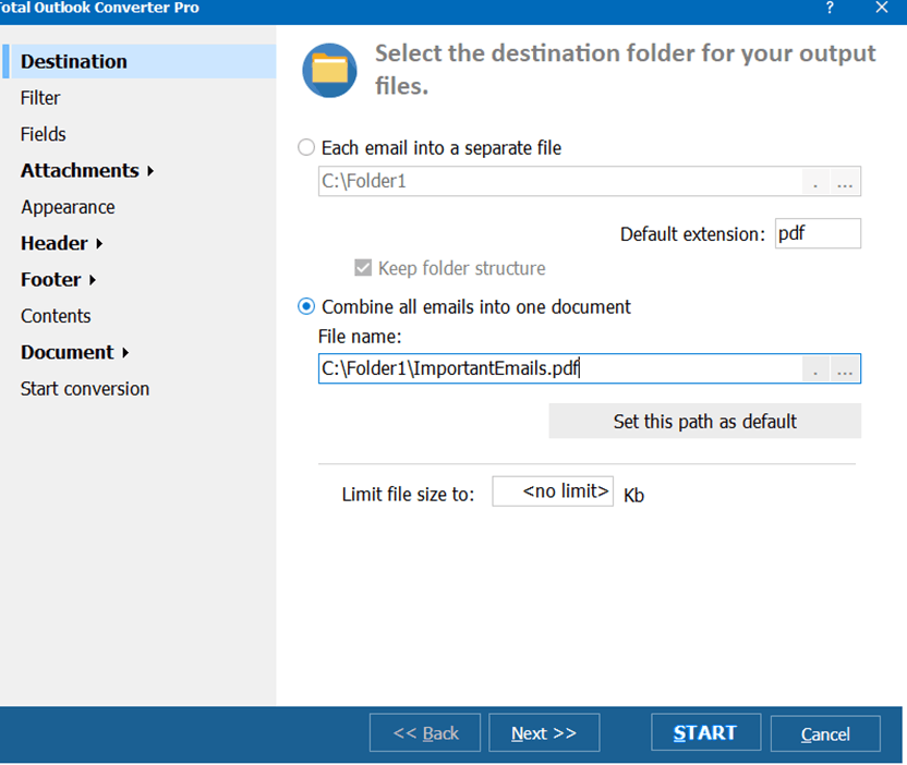 outlook converter