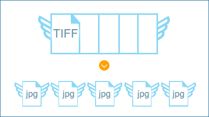 split tiff pages