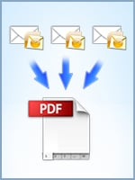 Convert Outlook Emails into 1 multi-page PDF