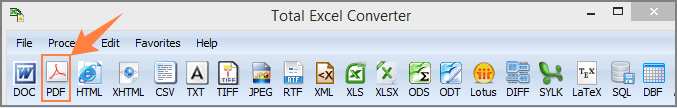 excel to pdf converter
