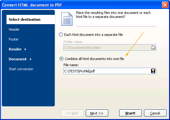 how to put several pdfs into one pdf