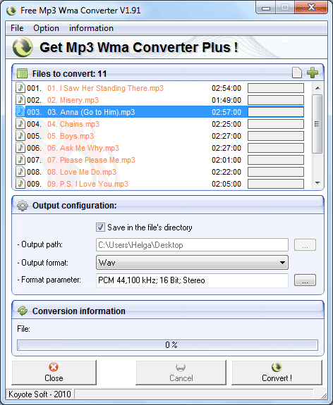 flac to wma converter