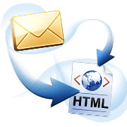 convert outlook express to html