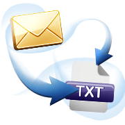 Convert email to txt with Attachments