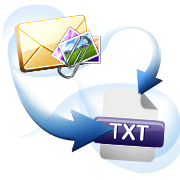 Convert Mail to txt with Attachments
