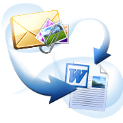 Convert Mail to doc word with Attachments
