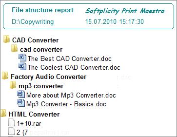 directory printer