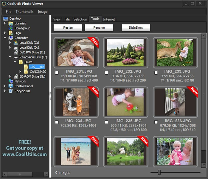 Coolutils Photo Viewer 1.2