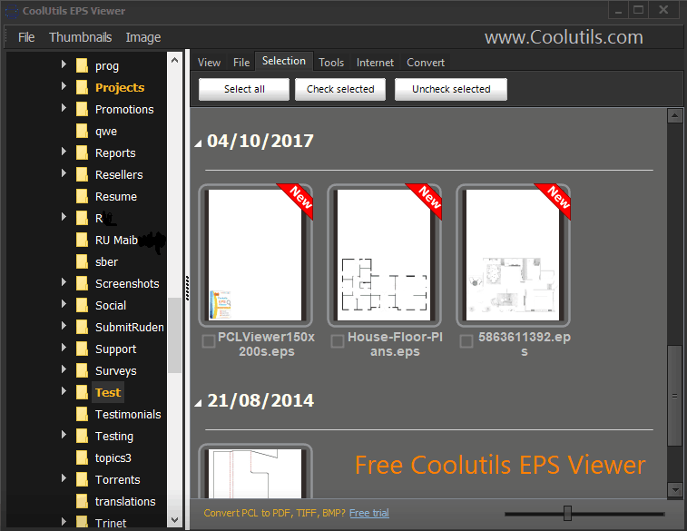 View EPS files for free with a new freeware from Coolutils.