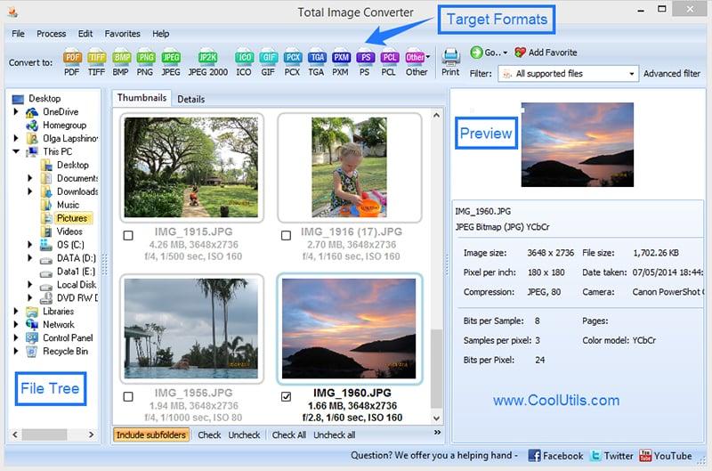 Windows 7 Total Image Converter 5.2 full