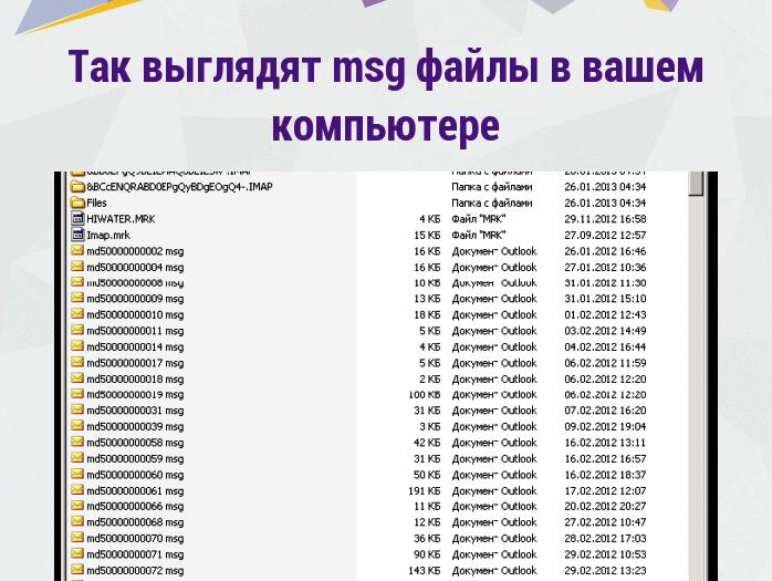 msg-файлы