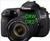 crw формат canon