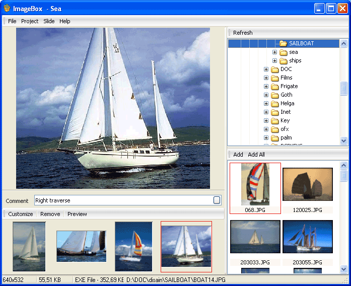 Click to view ImageBox 1.5 screenshot