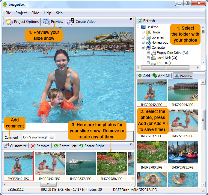 Image Box ScreenShot 1