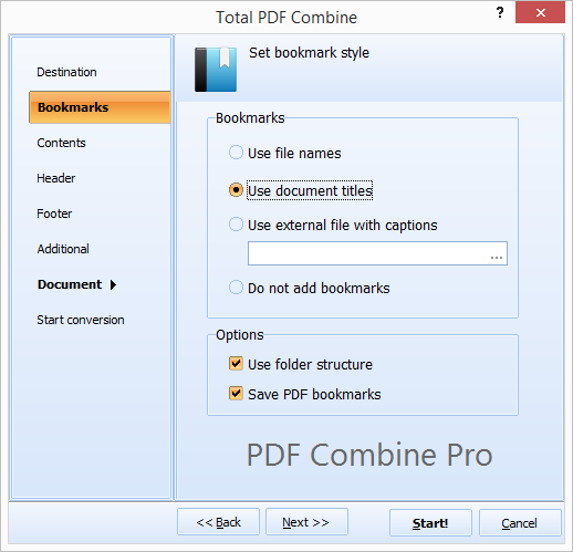 PDF Combine Pro ScreenShot 3