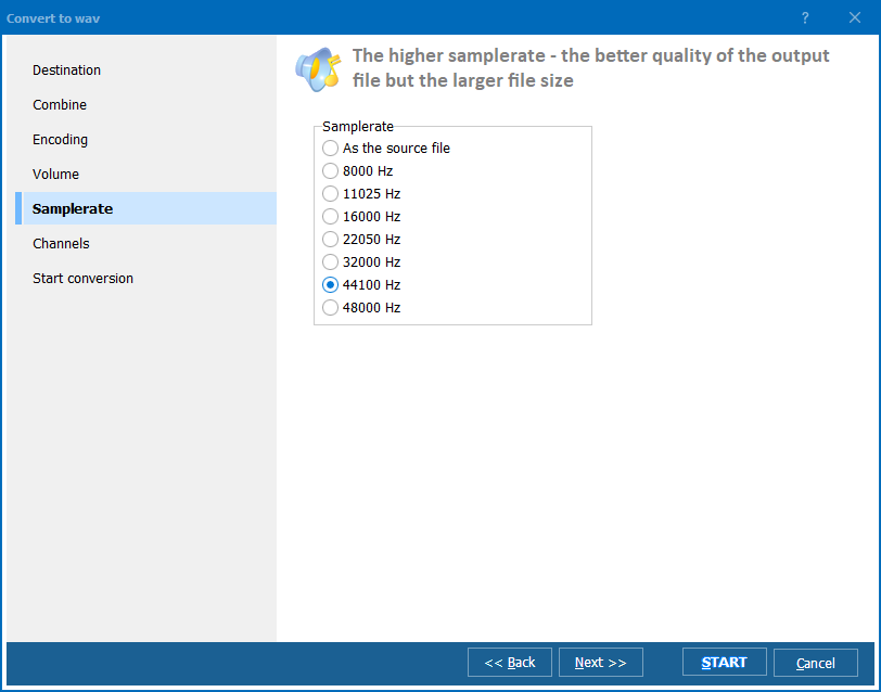 Audio Converter ScreenShot 3