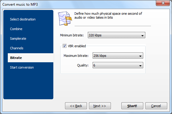 Audio Converter ScreenShot 5