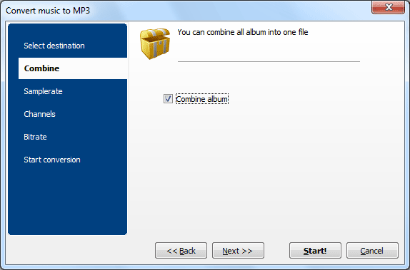 Audio Converter ScreenShot 2