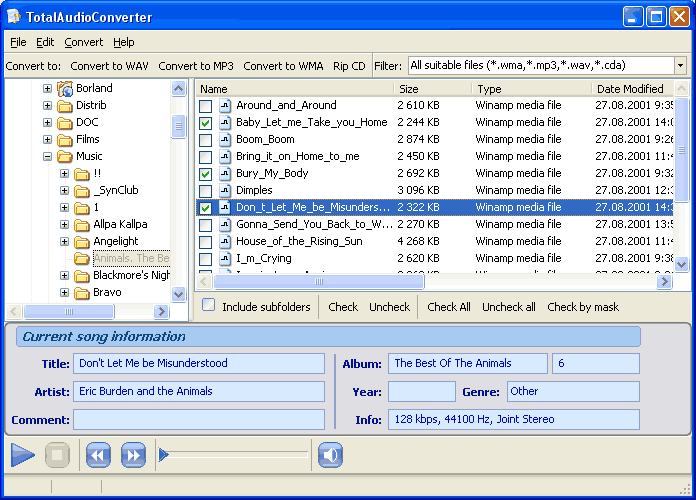 Total Audio Converter X ScreenShot 1