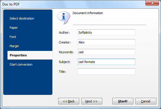 Doc Converter ScreenShot 6