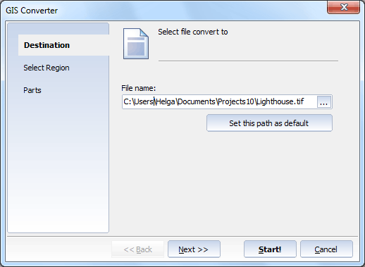 Total GIS Converter ScreenShot 2