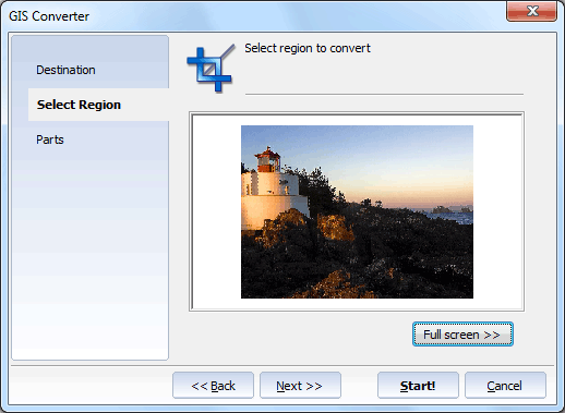 Total GIS Converter ScreenShot 3
