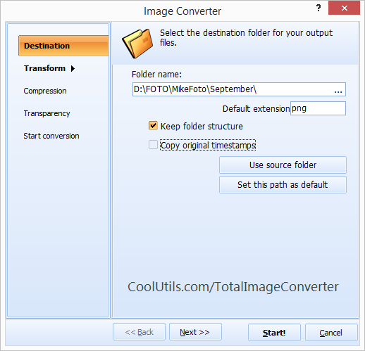 Image Converter ScreenShot 2