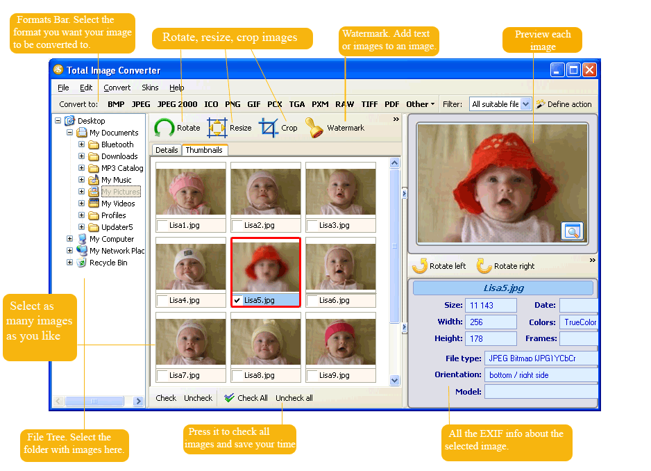 Image Converter ScreenShot 1