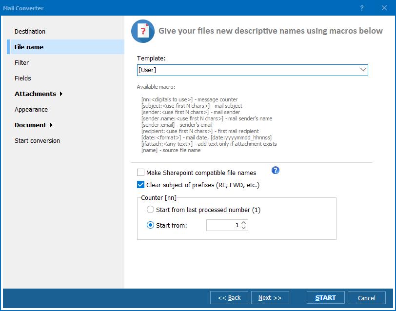 Total Mail Converter Pro ScreenShot 2