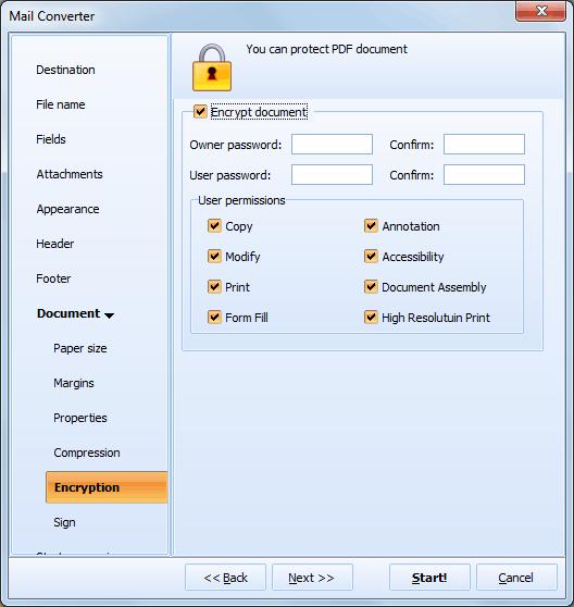 Total Mail Converter Pro ScreenShot 9