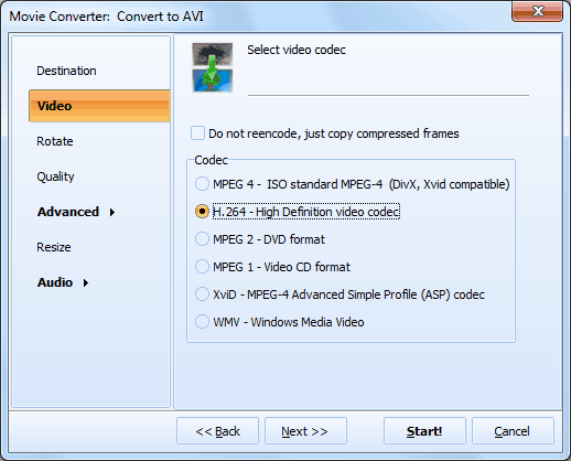 Total Movie Converter ScreenShot 3