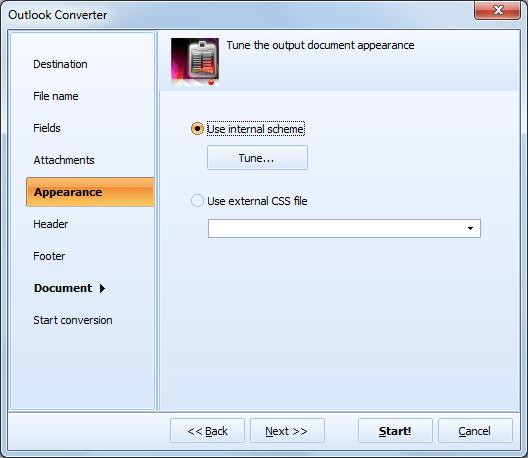 Total Outlook Converter ScreenShot 6
