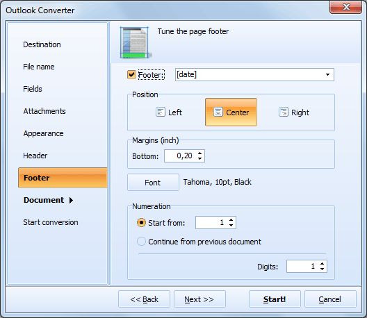 Total Outlook Converter ScreenShot 8