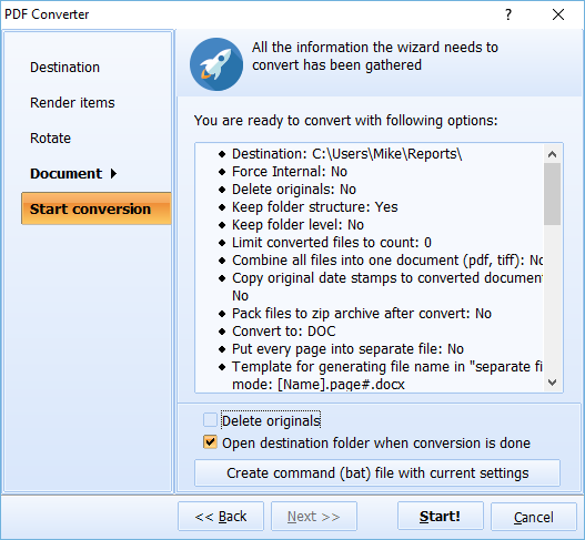 PDF Converter ScreenShot 5