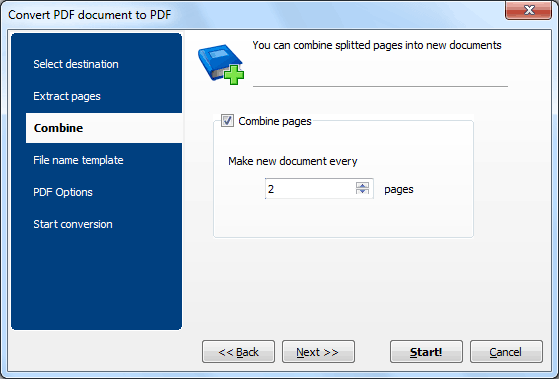 PDF Converter ScreenShot 3