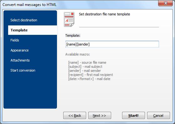 Total Thunderbird Converter Pro ScreenShot 3